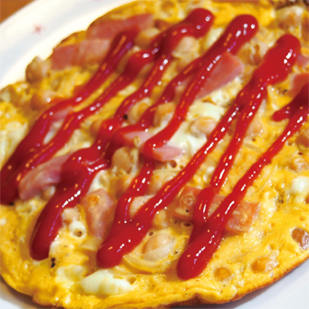 卵とひよこ豆のスペイン風オムレツ
